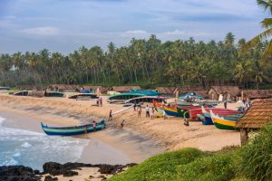 Autentisk ayurveda - Kadaltheeram beach