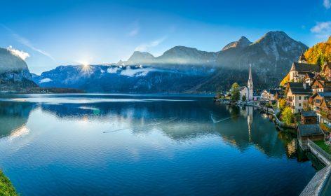 Österrike panorama