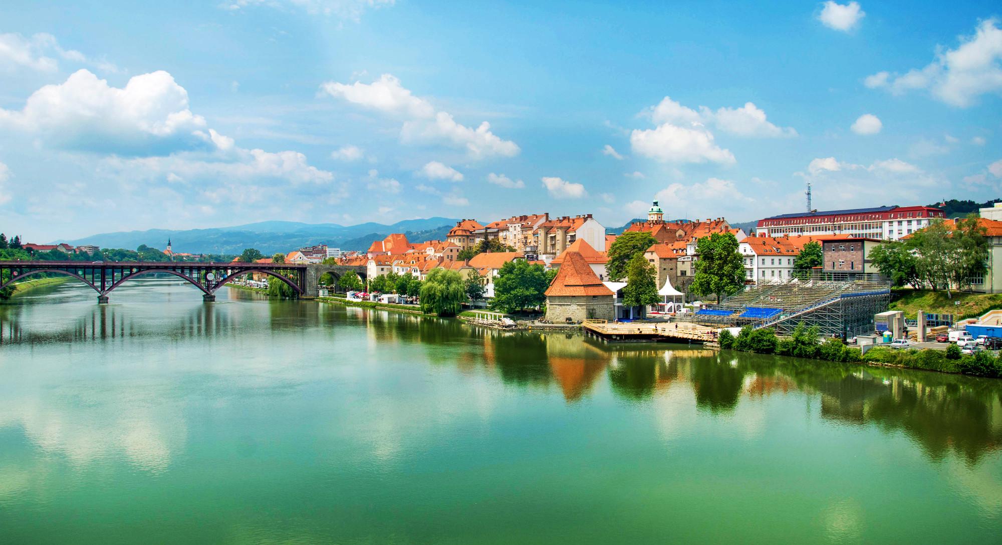 Stajerska: Maribors stadskärna