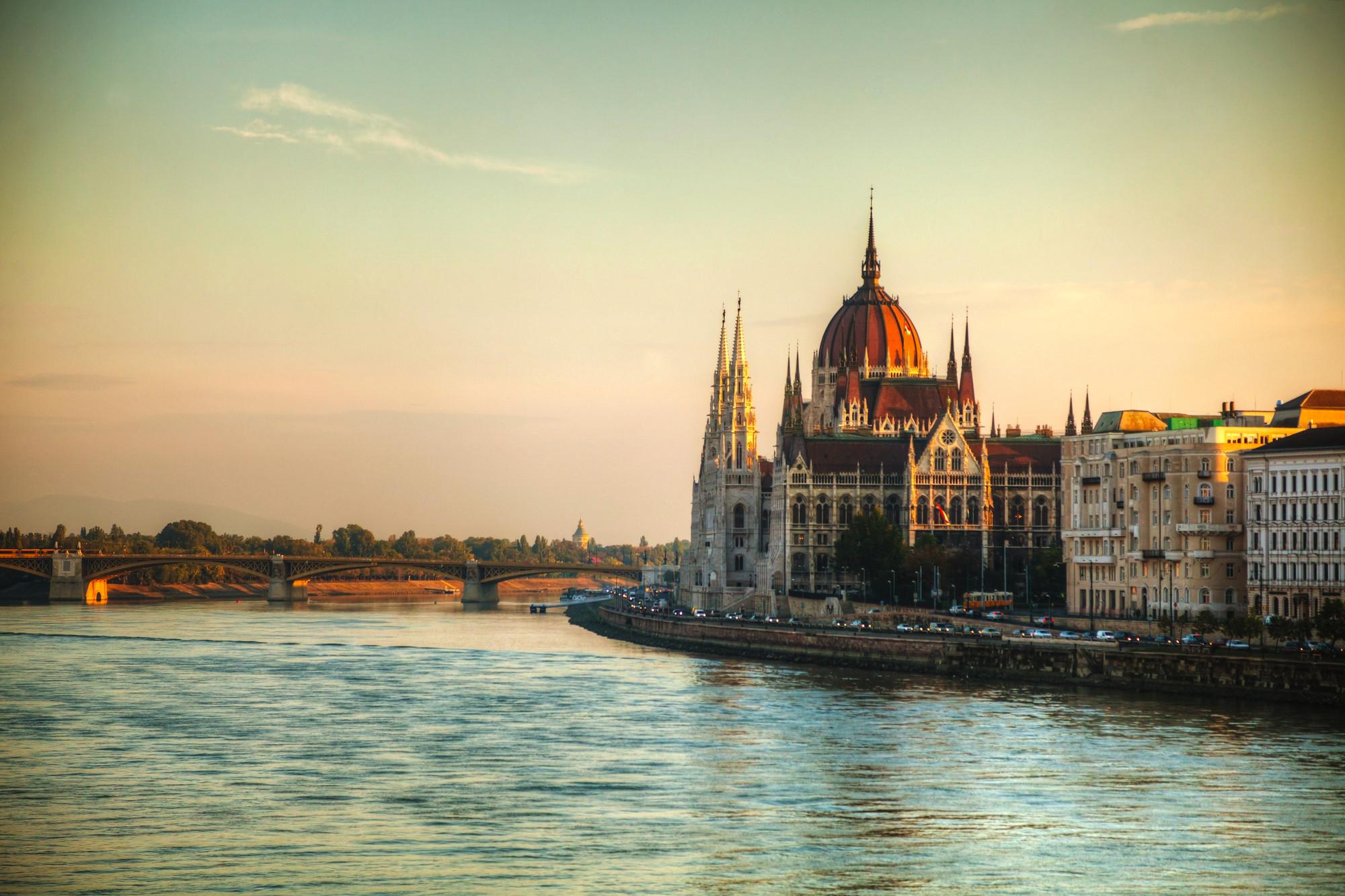 Ungern Budapest Termalbad