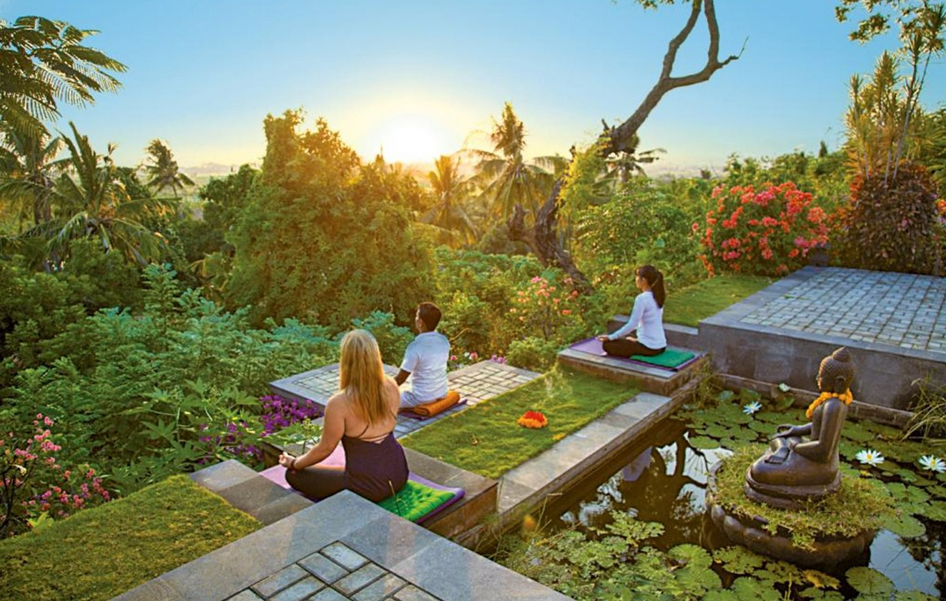 Zen Resort Bali meditation