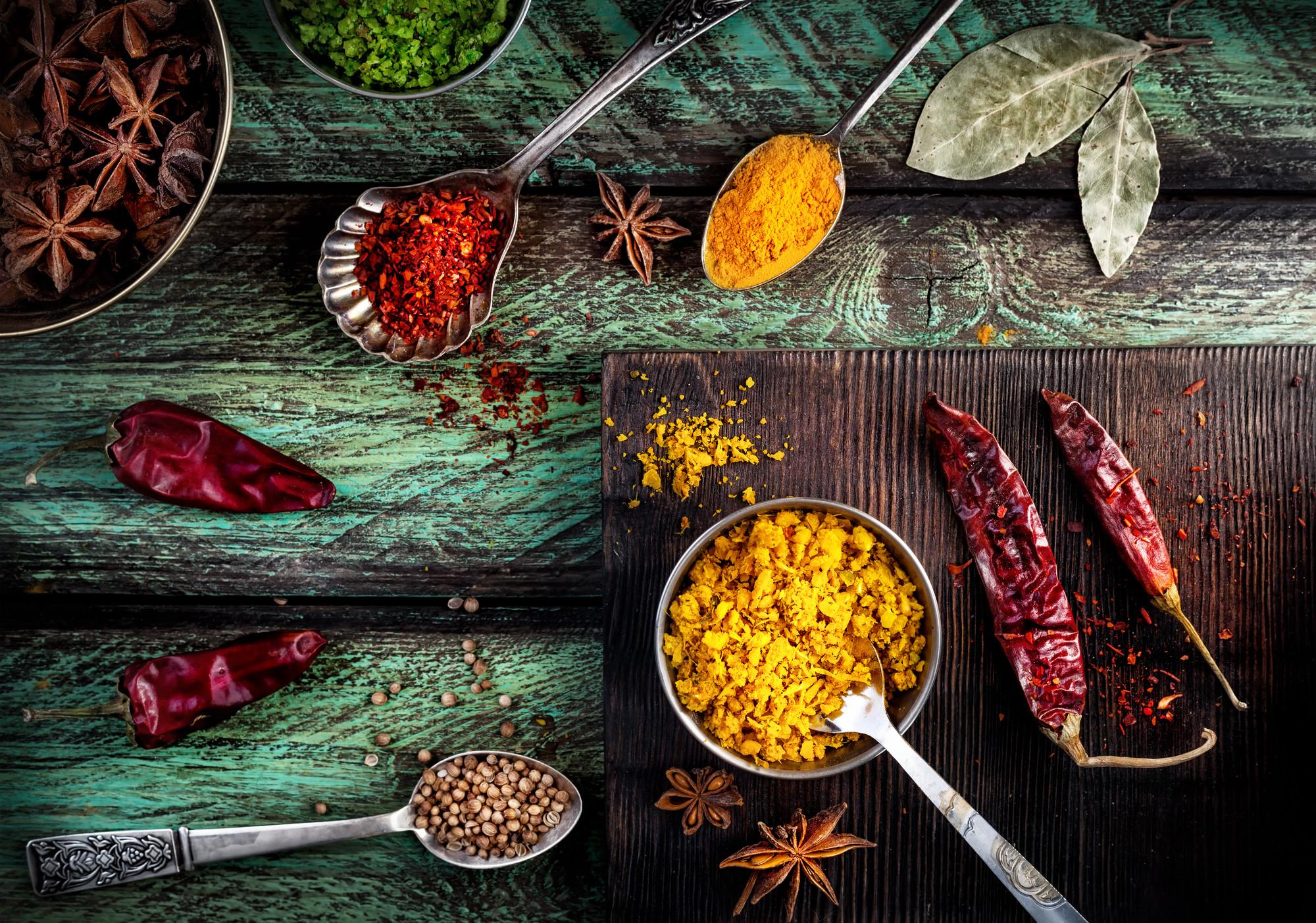 ayurveda i vardagen kryddor
