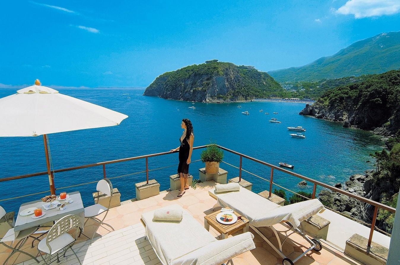 Mezza Torre Resort Spa Utsikt