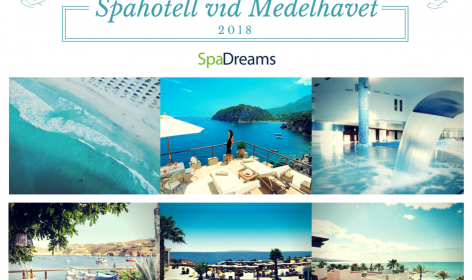 Våra bästa spahotell vid Medelhavet