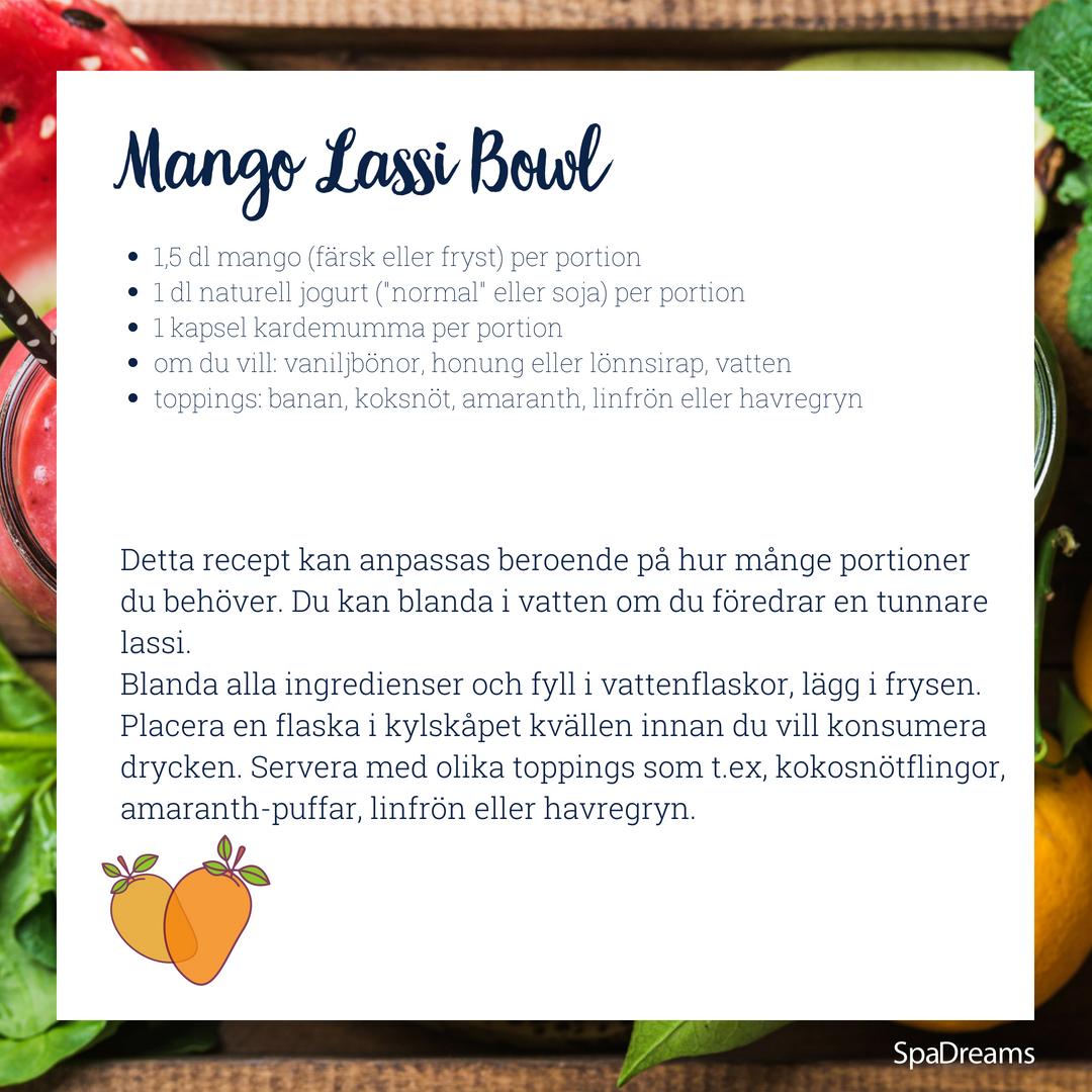Mango Lassi Bowl
