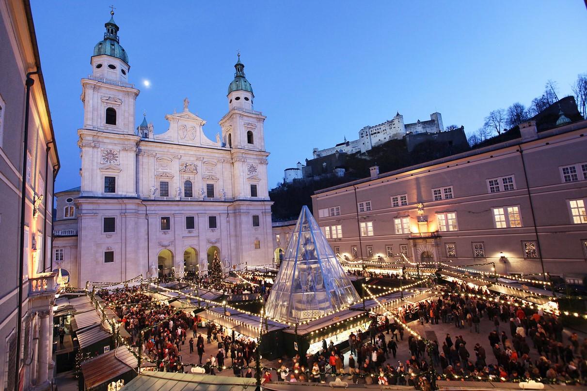 Julmarknad Salzburg